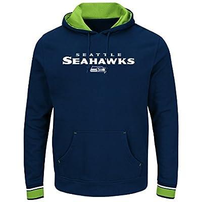 "Seattle Seahawks Majestic NFL ""Championship"" Men's Pullover Hooded Sweatshirt"