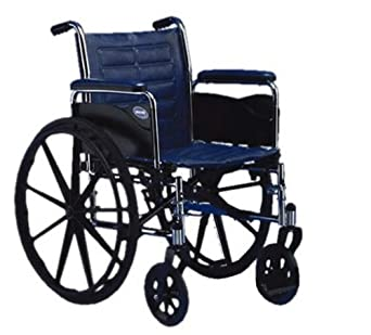 "Invacare Tracer EX2 Wheelchair, 18"" x 16"" with Removable Full Length Arms"