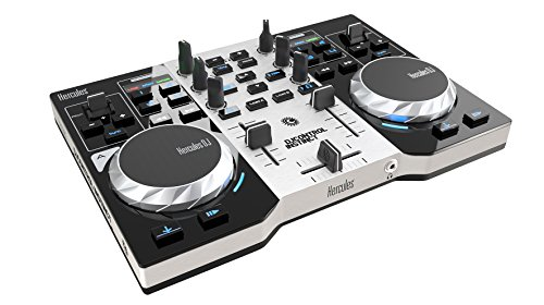 Hercules DJControl Instinct S series, ultra-mobile USB DJ Controller with Audio Outputs for use with your Headphones and your Speakers (4780833) (Dj Mixers compare prices)