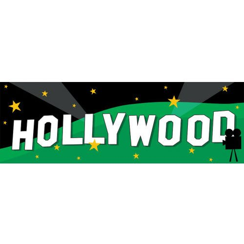 Hollywood Hills Giant Banner