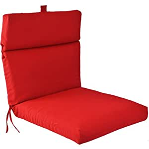 Amazon Universal Outdoor Chair Cushion Red Patio