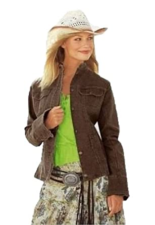 Long brown jacket trendy 34 072