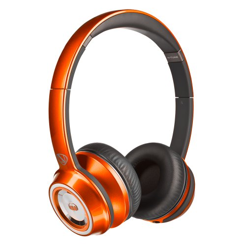 Monster® Ncredible Ntune On-Ear Headphones-Candy Tangerine