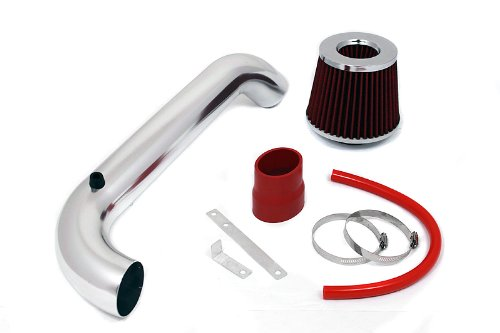 96 97 98 99 00 Honda Civic DX / LX / CX Short Ram Intake Red (Included Air Filter) #SR-HD11R (Civic Dx Intake compare prices)