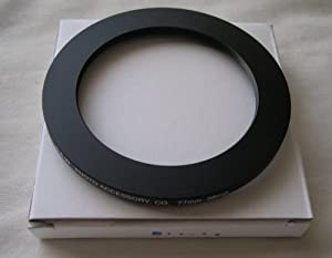 HeavyStar Dedicated Metal Step Down Ring 77-58mm
