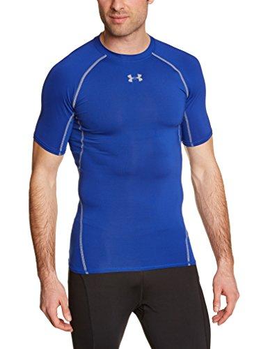 Under Armour UA Hg SS T-Shirt con Maniche Corte Uomo - Blu (Royal) - S