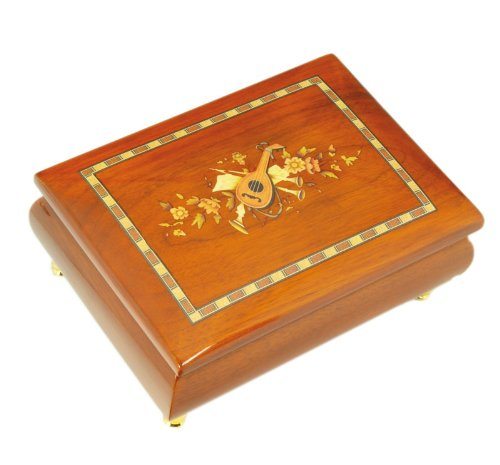 Musicboxworld Wooden Jewellery Box Playing