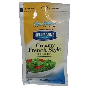 Hellmanns Creamy French Dressing (box of 102)