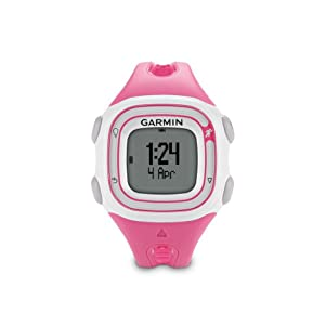 Garmin Forerunner 10 GPS Watch (Pink/White)