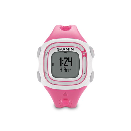Garmin Forerunner 10 GPS Watch (Pink/White) Running Gps