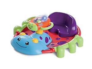 Little Tikes Activity Garden Rock 'n Spin Playset