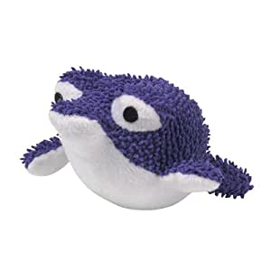 Zanies plush primo pufferfish dog toy 6 1 2 for Puffer fish stuffed animal