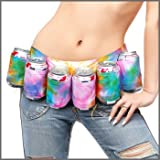Tie-Dye Beer Belt 6 Pack Holster