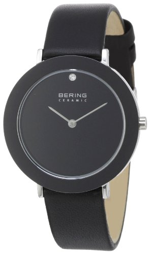 Bering Time Unisex Ceramic Analogue Quartz Watch 11435-442