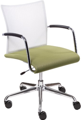 Brilliant Dauphin Visita Upholstered Seat Mesh Back Swivel Chair Pdpeps Interior Chair Design Pdpepsorg