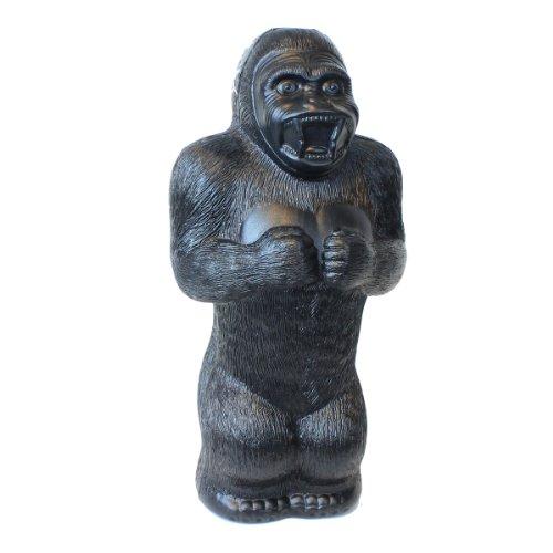 Large Gorilla Money Bank: 17 Inch Plastic Blow-Mold - Classic Retro Design by Fantazia Marketing - 1