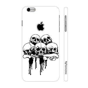 Enthopia Designer Hardshell Case Skull 'N Bone Back Cover for Apple Iphone 7 With Hole