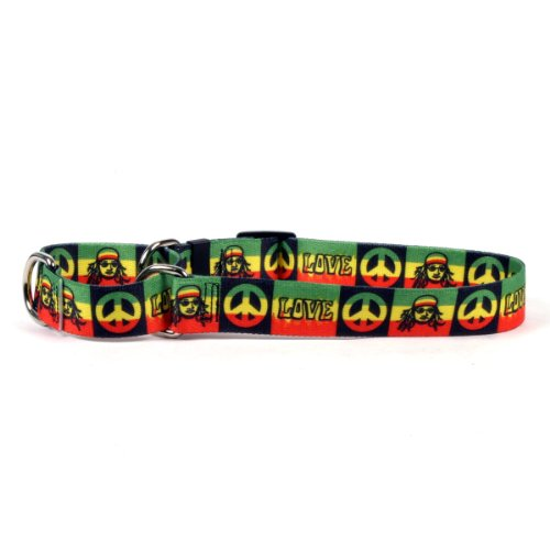 Rasta Martingale Control Dog Collar - Size Extra Small 10