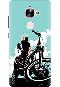 Noise Designer Printed Case / Cover for LeEco Le 2 / Bikes / Breaking Bad Design