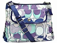Coach Kyra Scarf Print File Messenger Bag