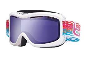 Bolle Monarch Goggle with Aurora Lens - White, Medium