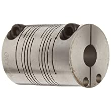 Ruland PCR Clamping Beam Coupling, Stainless Steel, Inch