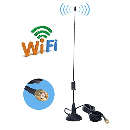 AMAKE 7DBI High Gain 4G LTE Antenna Wifi Signal Booster Amplifier Modem Directional Adapter Network Reception Long Range Antenna With SMA Male Connector for Mobile Hotspot(7 DBI SMA Male Connector) (Outdoor Internet Antenna compare prices)
