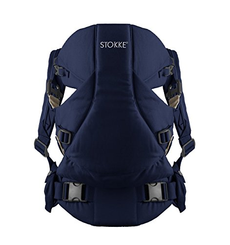 Stokke MyCarrier Baby Carrier - Deep Blue