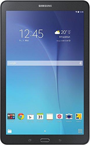 Samsung Galaxy Tab E T560N 24,3 cm (9,6 Zoll) Einsteiger Tablet-PC (Quad-Substance, 1,3GHz, 1,5GB RAM, WiFi, Android 4.4) schwarz