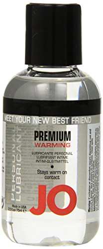 System Jo Personal Silicone Warming Lube, 2.5-Ounce Bottle