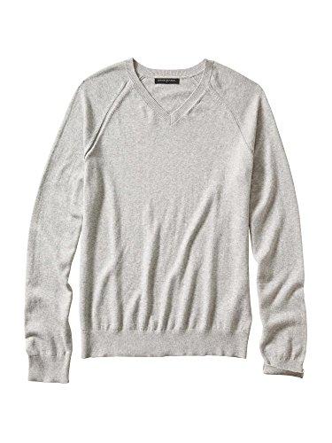 banana-republic-heather-cotton-v-neck-sweater-large-grey-heather