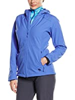 Mountain Hardwear Softshell Pyxiana Hooded (Azul)
