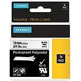 Dymo Rhino Pro 18484 Ruban Permanent en Polyester 19 mm