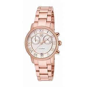 Invicta S. Coifman SC0333 32mm Rose Gold Steel Bracelet & Case flame fusion Women's Watch