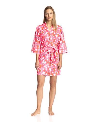 Aegean Apparel Women's Print Terrycloth Robe