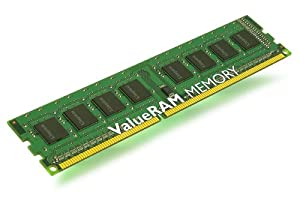 Kingston ValueRAM 8GB 1333MHz DDR3 ECC Reg CL9 DIMM Quad Rank x8 1.35V Low Voltage Elpida C Desktop Memory