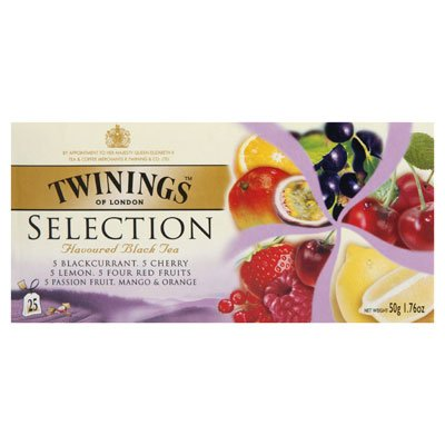Twinings Selection Blackcurrant Cherry Lemon