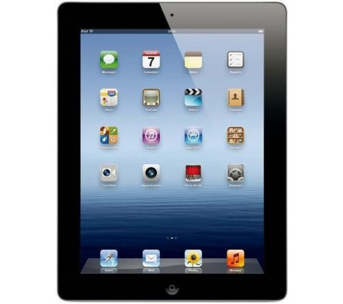 APPLE iPad with Retina display - 4th generation - WiFi - 32 GB - black - NEW iOS 6, 9.7