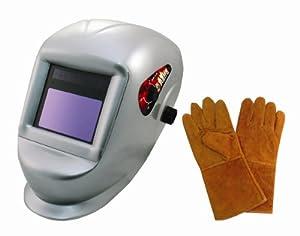 Astro Pneumatic 8077SE Deluxe Solar Auto-Darkening Welding Helmet