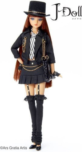 J-Doll Melrose Ave. Collectible Fashion Doll by Groove Inc. (English Manual)