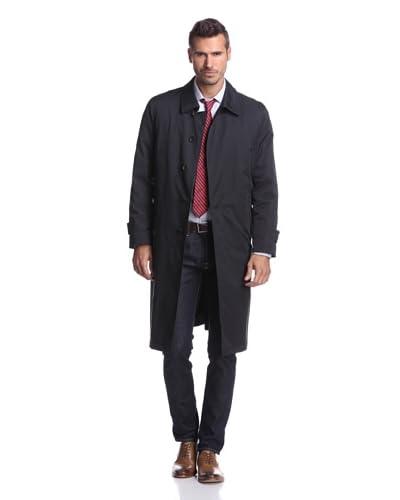 Sanyo Men's Chambers Split Raglan Long Coat