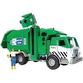 amazon com tonka mighty motorized vehicle front loader