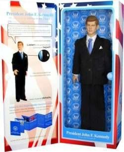 John F. Kennedy Talking Action Figure by ToyPresidents Inc.