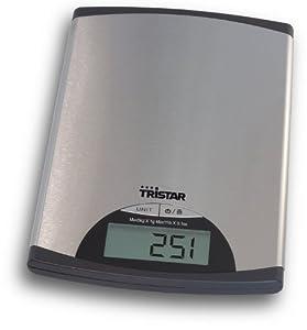 Tristar KW-2435 - Báscula de cocina con panel de control digital de TriStar