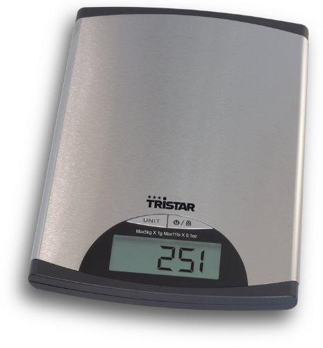 Tristar KW-2435 Balance de Cuisine 5 kg Maximum Précision 1 g