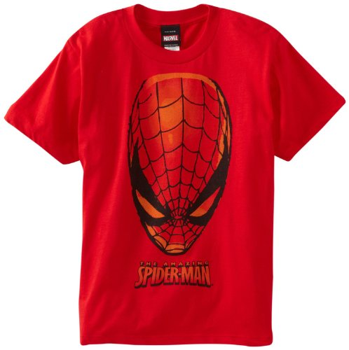 Spider-Man Big Boys' Ahead Of Spider Short-Sleeve T-Shirt