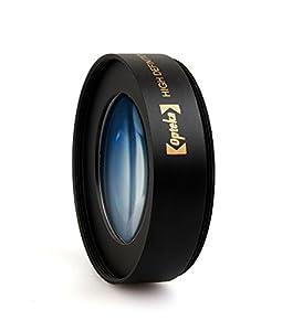 Objectif Macro Professionnel Opteka 10x 58mm HD² pour Canon EOS 1D, 5D, 6D, 7D, 10D, 20D, 30D, 40D, 50D, 60D, 300D, 350D, 400D, 450D, 500D, 550D, 600D, 650D 1000D & 1100D Appareils Photo Reflex