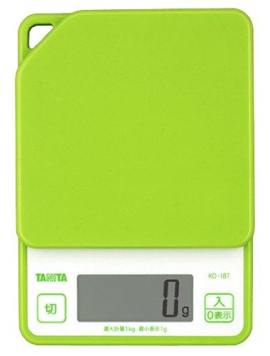 ?chelle de cuisson num?rique Tanita vert KD187-GR (japon importation)