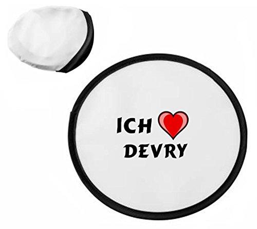 personalisierter-frisbee-mit-aufschrift-ich-liebe-devry-vorname-zuname-spitzname