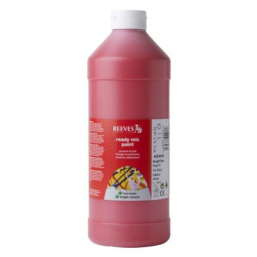 reeves-tempera-1-l-color-rojo